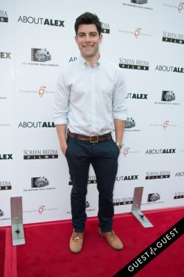 max greenfield in Los Angeles Premiere of ABOUT ALEX