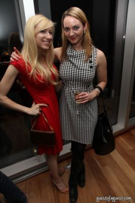 maya baratz in Curbed Cooper Square Holiday Party
