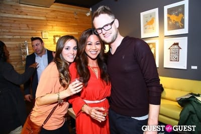 bobby berk in Cathy Hobbs Mythic Paint Launch Party