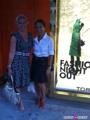 gretchen gunlocke-fenton in Fashion's Night Out NYC 2012