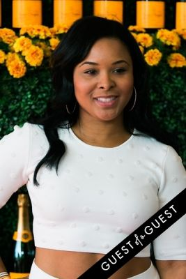 mechelle epps in The Sixth Annual Veuve Clicquot Polo Classic Red Carpet