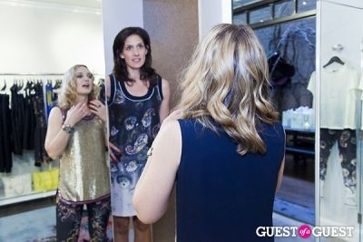 jennie blair in The Well Coiffed Closet and Cynthia Rowley Spring Styling Event
