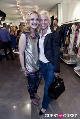 liza calder in The Well Coiffed Closet and Cynthia Rowley Spring Styling Event