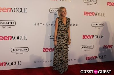 megan park in 9th Annual Teen Vogue 'Young Hollywood' Party Sponsored by Coach (At Paramount Studios New York City Street Back Lot)