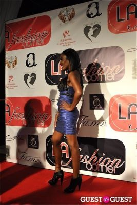melanie harrison in Caring With Style: Pre-Emmys Fashion Show For Charity