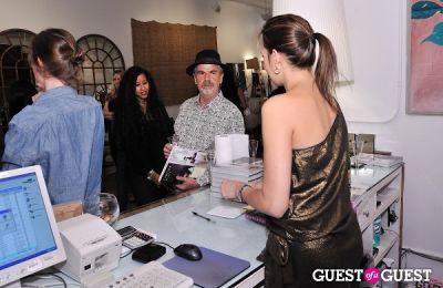melissa enriquez in Campion Platt book signing at Calypso St. Barth Home