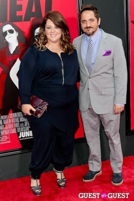 ben falcone in The Heat Premiere