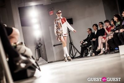 jude law in Pratt Fashion Show 2012