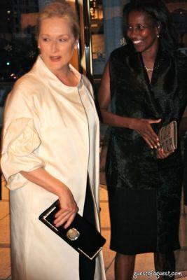 meryl streep in New York Philharmonic-Opening Night Gala