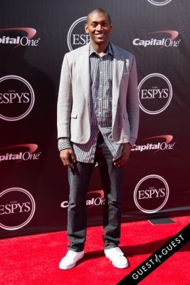 metta world-peace in The 2014 ESPYS at the Nokia Theatre L.A. LIVE - Red Carpet
