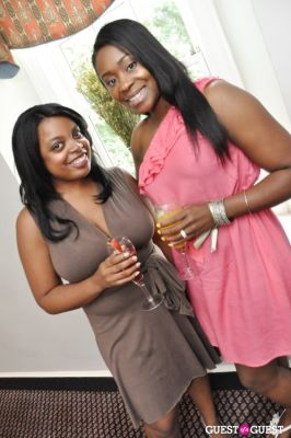 robin akinwale in Shea Radiance Target Launch Party