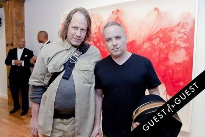 michael anderson in ART Now: PeterGronquis The Great Escape opening