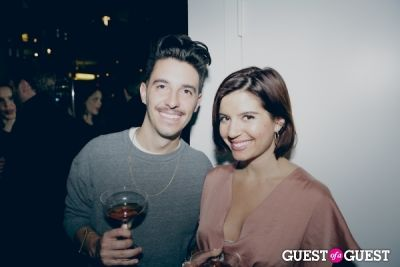 michael ciancio-and-jamie-arendt in Warby Parker Upper East Side Store Opening Party