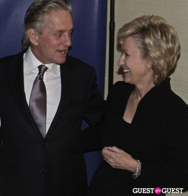 michael douglas in NYC POLICE FOUNDATION GALA