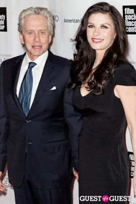 michael douglas in 40th Annual Chaplin Awards honoring Barbra Streisand
