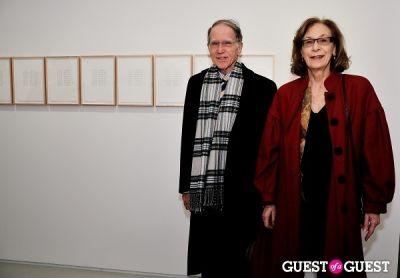 shaq in Jorinde Voigt opening reception at David Nolan Gallery