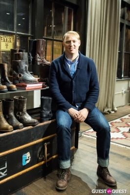 michael petry in The Frye Company Pop-Up Gallery