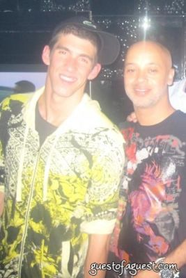 michael phelps in China Doll Nightclub Beijing