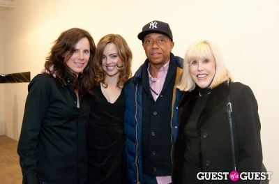russell simmons in Topsfield Art Opening