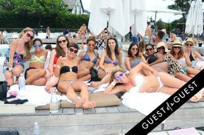 michele frazier in Summer Set Saturdays At Montauk Beach House Featuring