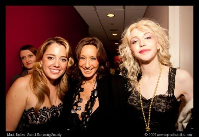 donna karan in Music Unites - Secret Screening Society - Sting Twin Spirits Screening