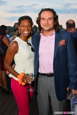 michelle hudson in Sip With Socialites July Luau Happy Hour