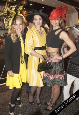 alessandra emanuel in Socialite Michelle-Marie Heinemann hosts 6th annual Bellini and Bloody Mary Hat Party sponsored by Old Fashioned Mom Magazine