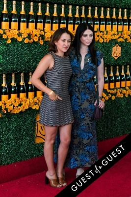zelda williams in The Sixth Annual Veuve Clicquot Polo Classic Red Carpet
