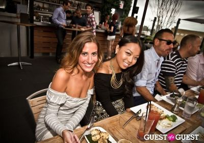 michelle yuen in Sunset Brunch Club at STK Rooftop