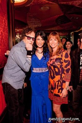 mick rock in Lauren Rae Levy's Birthday Celebration