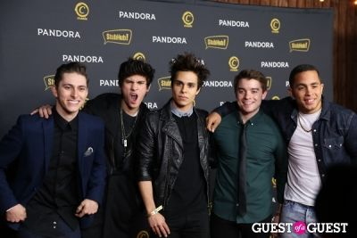 midnight red in Pandora Hosts After-Party Featuring Adrian Lux on Music's Most Celebrated Night
