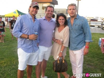 kevin kelleher in Hamptons Magazine Annual Clam Bake