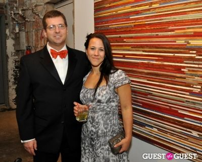 ronni glaser in District Design Society's Creative Black Tie Party