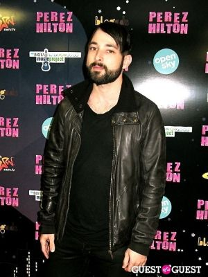 mike noveau in Perez Hilton's One Night in NYC /Open Sky Project