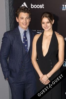 miles teller in Insurgent Premiere NYC