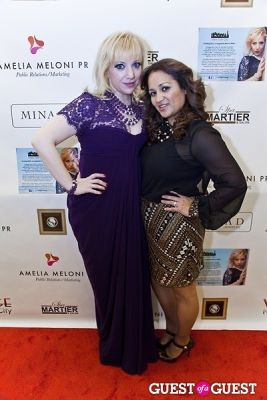 amelia meloni in Mina D Holiday Glamour Party
