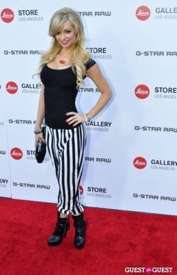 mindy robinson in Leica Store Los Angeles: Grand Opening