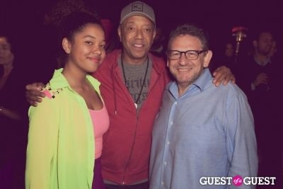 lucian grainge in RWS LA Book Party Celebrating