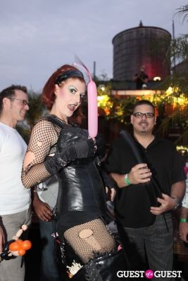mistress b in GLAAD Summer Rooftop
