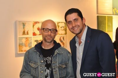 moby in Trey Speegle - Once Wants More at Benrimon Contemporary