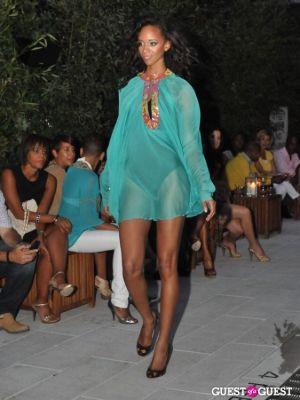 model etaylor in Beloved Star Beachwear Launch