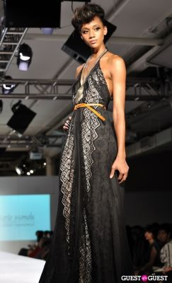 model etaylor in NY Fame Fashion Week Charity Benefit