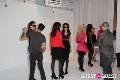 models in I.N.C Fall 2011 Launch Party