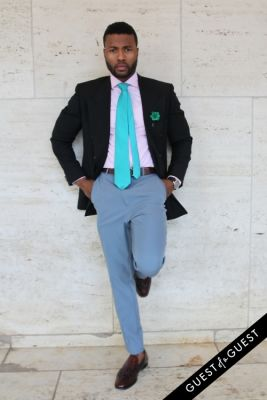 mohamed tunis in NYFW Style From the Tents: Street Style Day 3