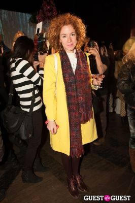 monica zanocchi in NYC Fashion Week FW 14 Street Style Day 5