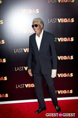 morgan freeman in Last Vegas Premiere New York