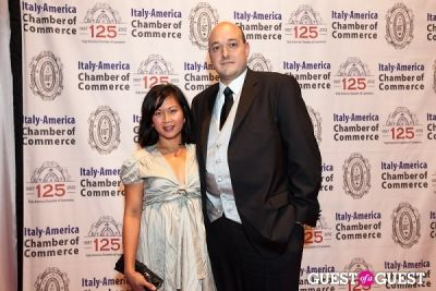 mrs. angelo in Italy America CC 125th Anniversary Gala