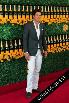 nacho figueras in The Sixth Annual Veuve Clicquot Polo Classic Red Carpet
