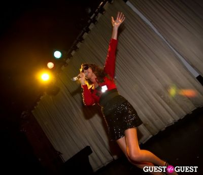 nadine coyle in #GUMBOPOP premiere at Canal Room