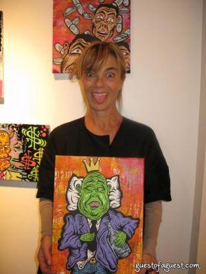 nadine johnson in Damon Johnson Gallery Opening